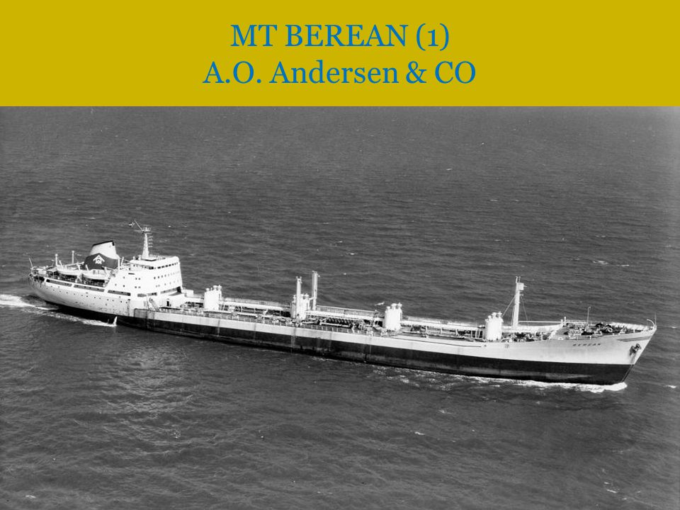 MT BEREAN (1) A.O. Andersen & CO