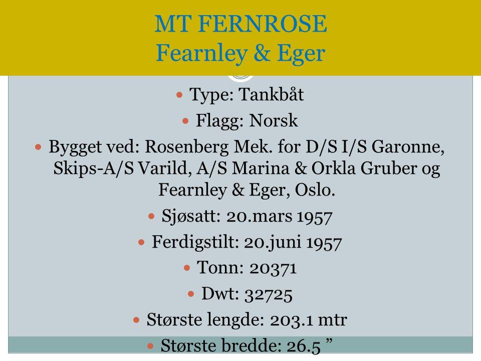 MT FERNROSE Fearnley & Eger