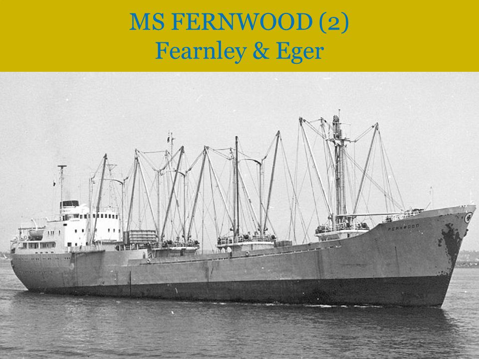 MS FERNWOOD (2) Fearnley & Eger
