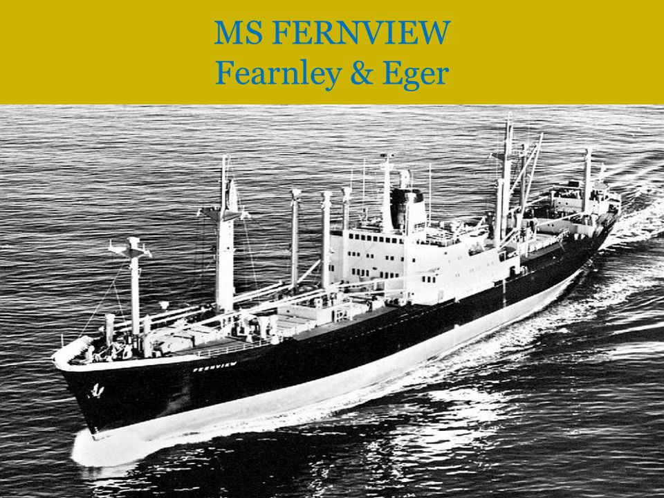 MS FERNVIEW Fearnley & Eger