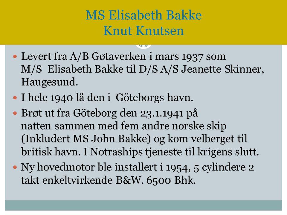 MS Elisabeth Bakke Knut Knutsen