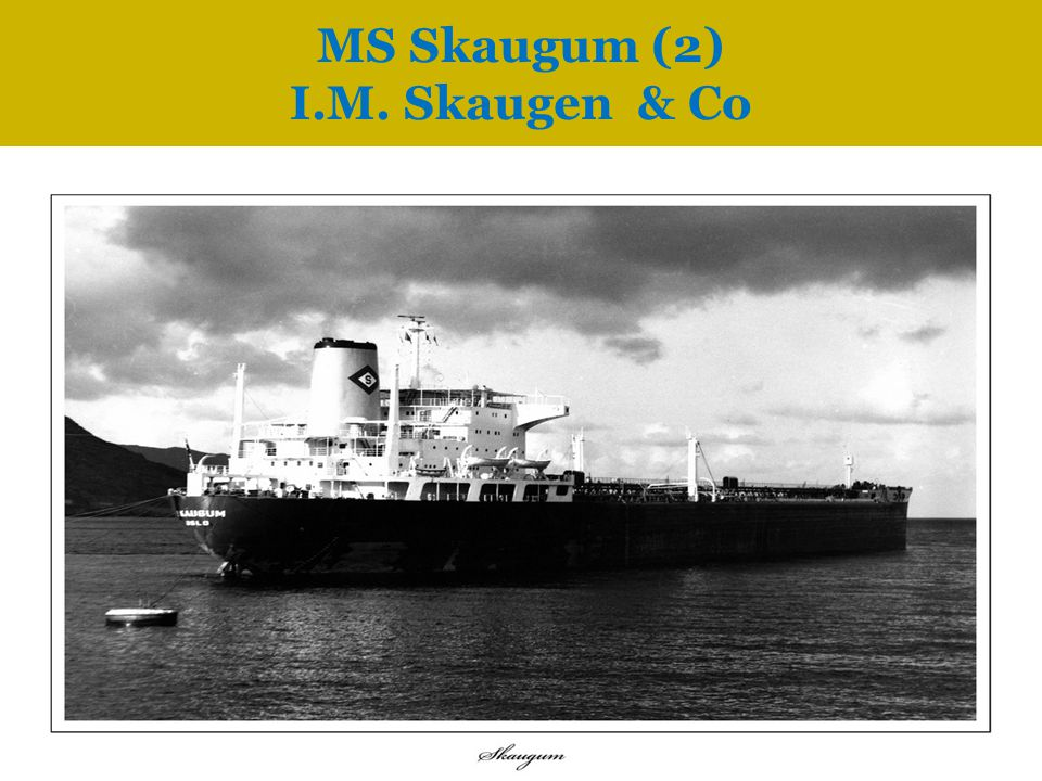 MS Skaugum (2) I.M. Skaugen & Co