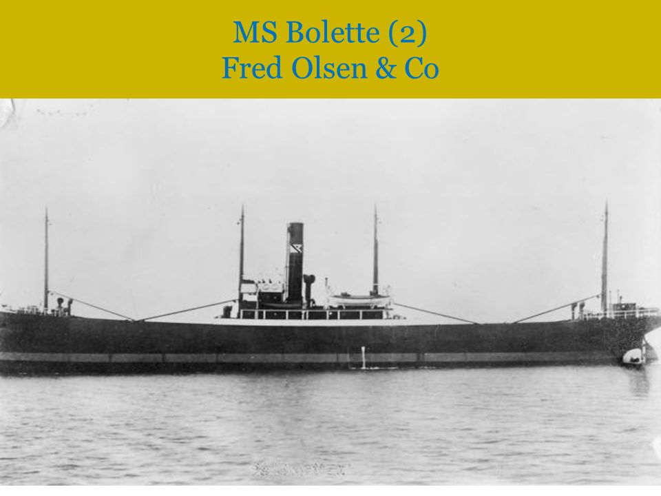 MS Bolette (2) Fred Olsen & Co