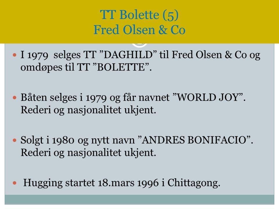 TT Bolette (5) Fred Olsen & Co