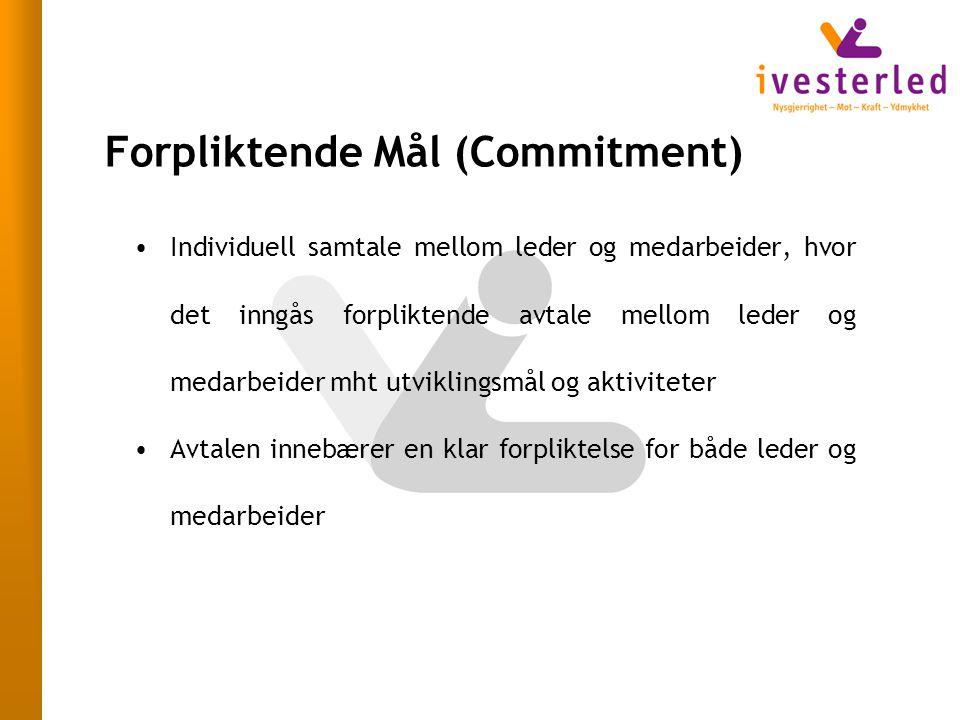 Forpliktende Mål (Commitment)