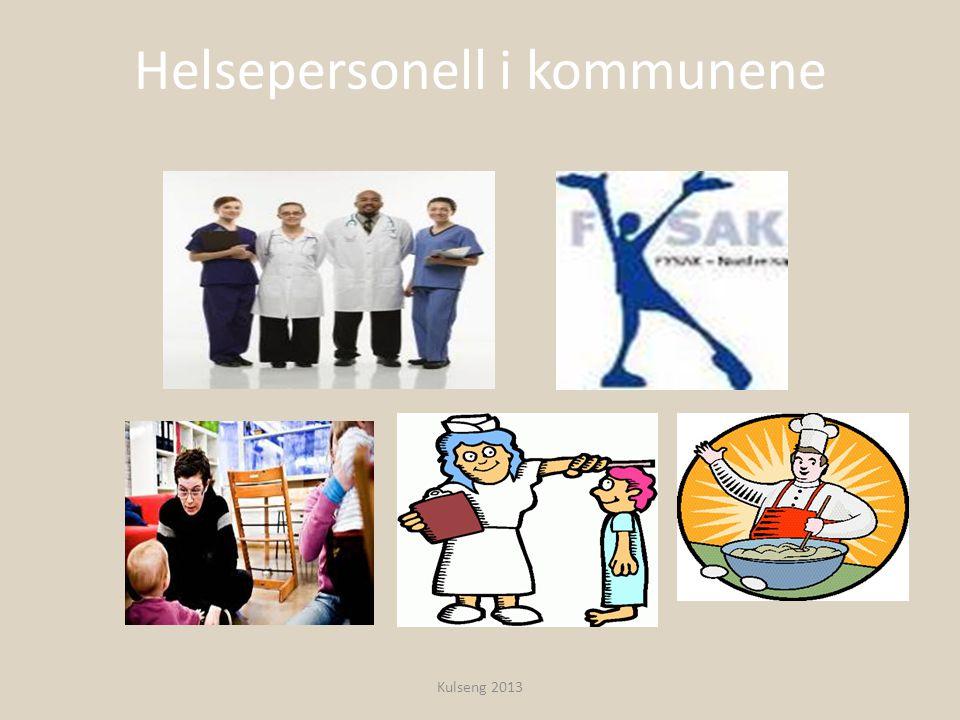 Helsepersonell i kommunene