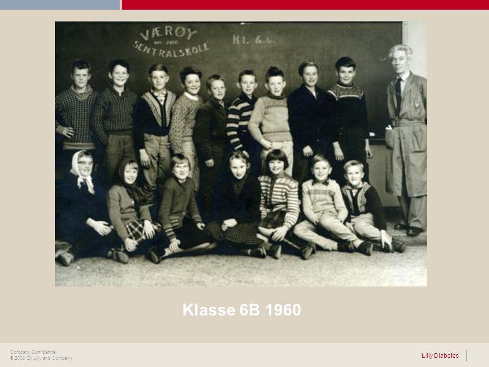 Klasse 6B 1960