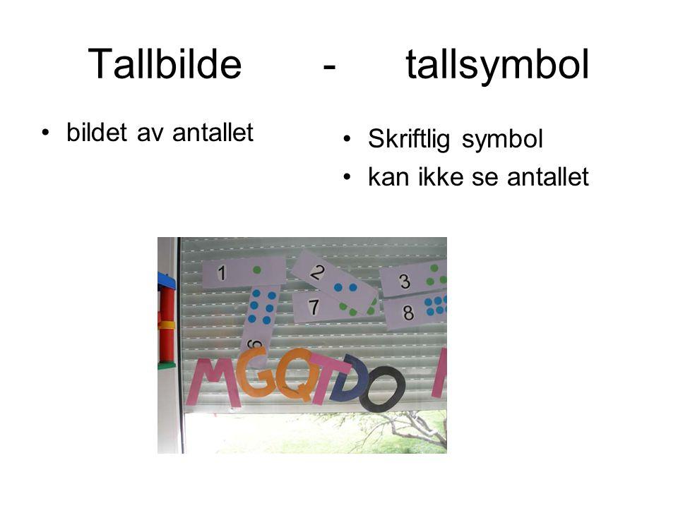 Tallbilde - tallsymbol