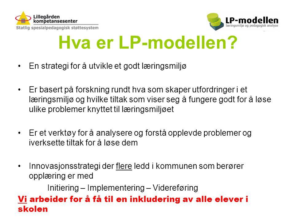 Hva er LP-modellen En strategi for å utvikle et godt læringsmiljø