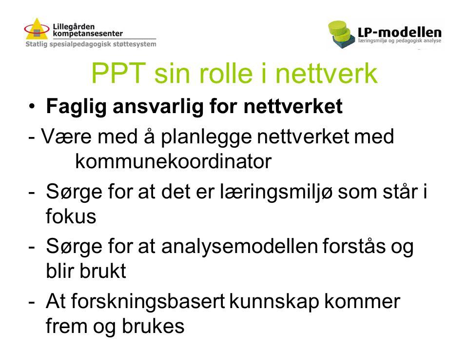 PPT sin rolle i nettverk