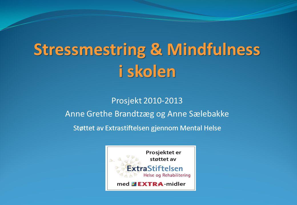 Stressmestring & Mindfulness i skolen