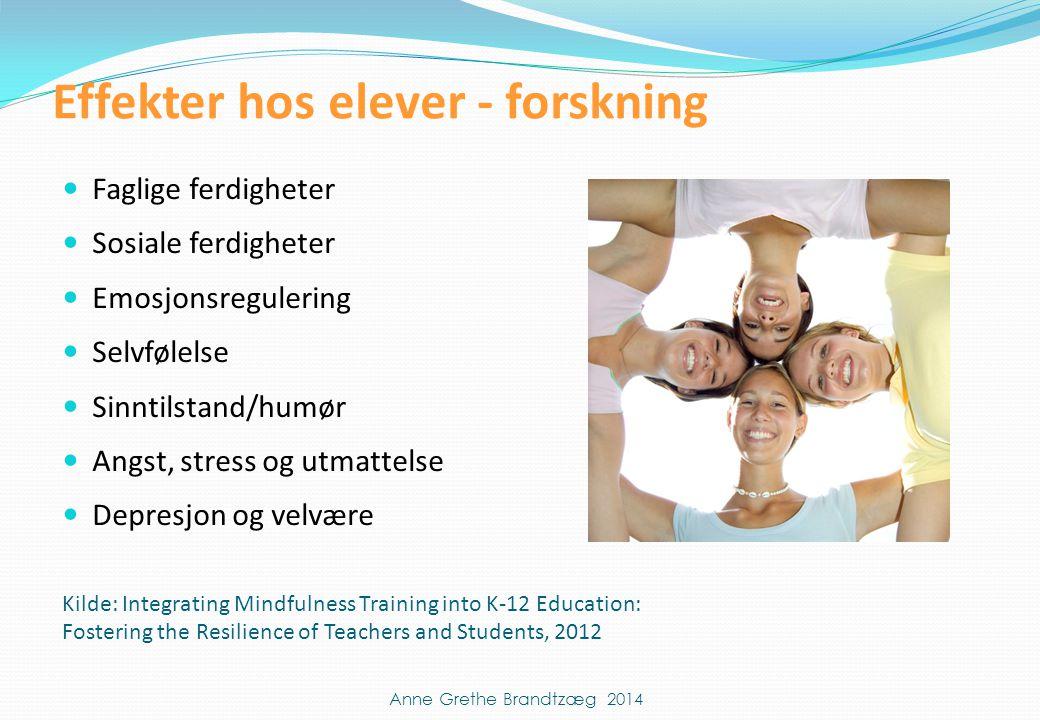 Effekter hos elever - forskning
