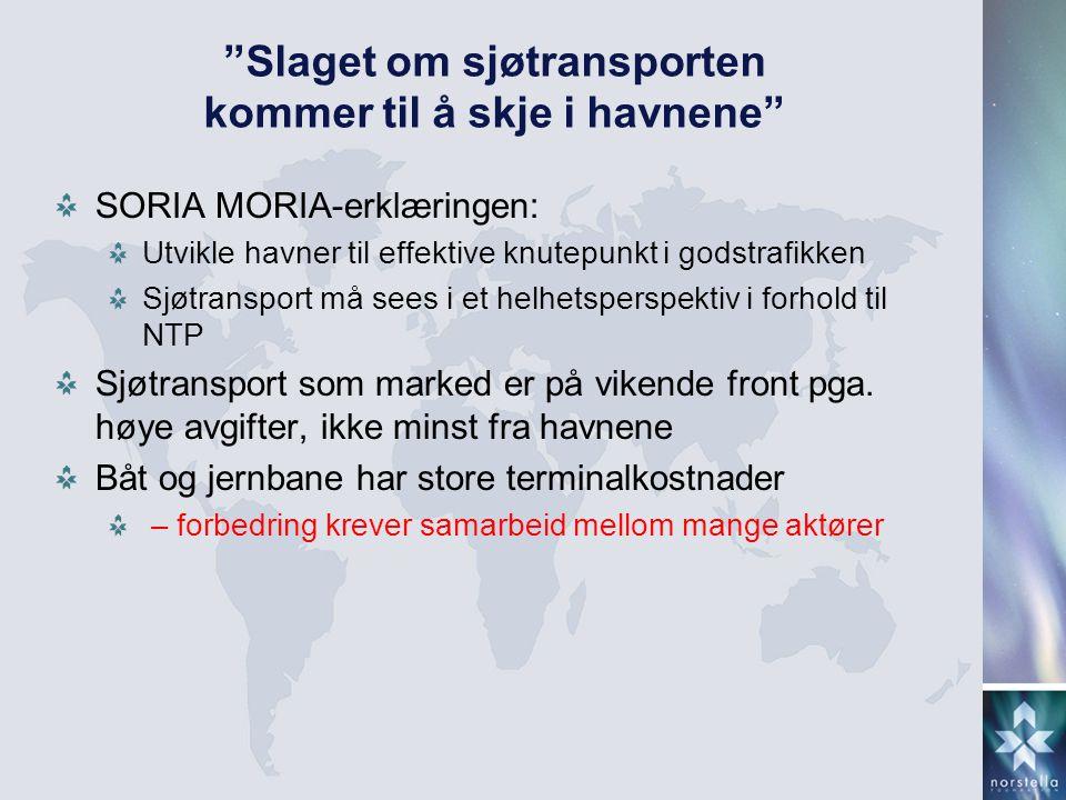 Slaget om sjøtransporten kommer til å skje i havnene