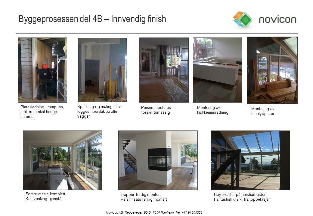 Byggeprosessen del 4B – Innvendig finish