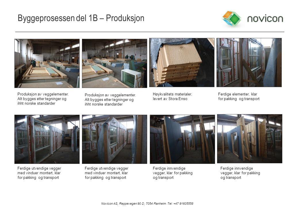 Byggeprosessen del 1B – Produksjon