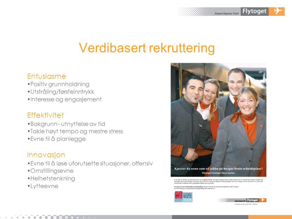 Verdibasert rekruttering