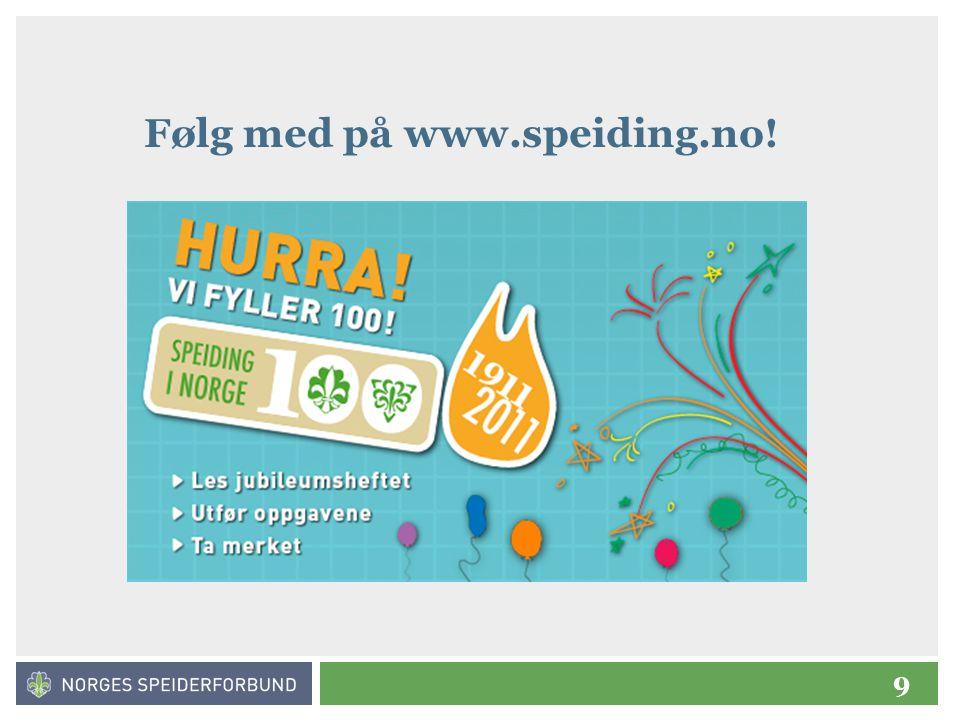 Følg med på www.speiding.no!