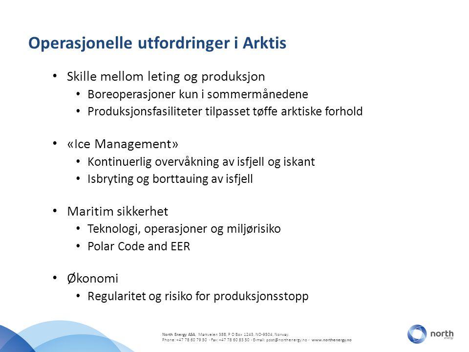Operasjonelle utfordringer i Arktis