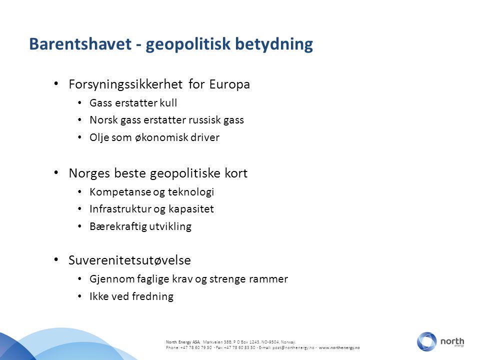 Barentshavet - geopolitisk betydning