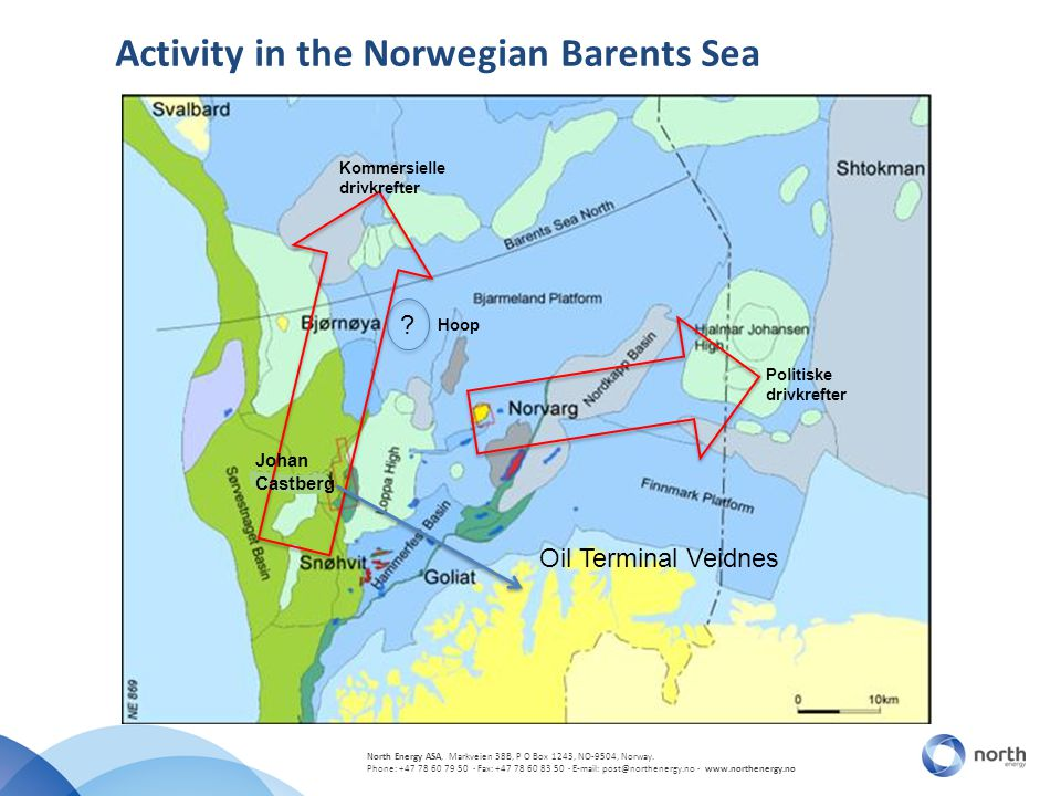 Activity in the Norwegian Barents Sea