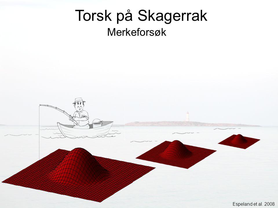 Torsk på Skagerrak Merkeforsøk Espeland et al. 2008