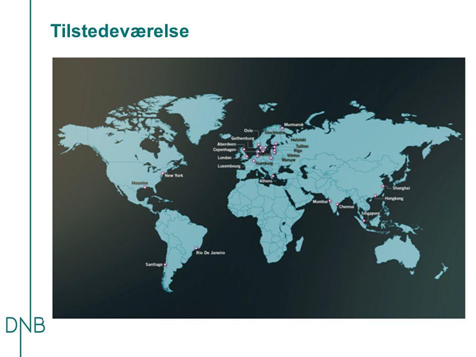 Tilstedeværelse Vi er til stede i 19 land