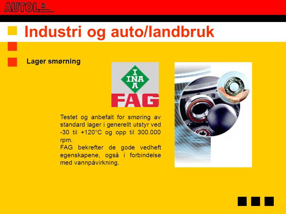 Industri og auto/landbruk
