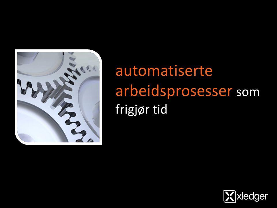 automatiserte arbeidsprosesser som frigjør tid