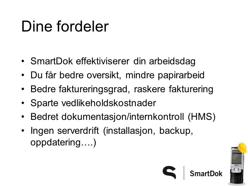 Dine fordeler SmartDok effektiviserer din arbeidsdag