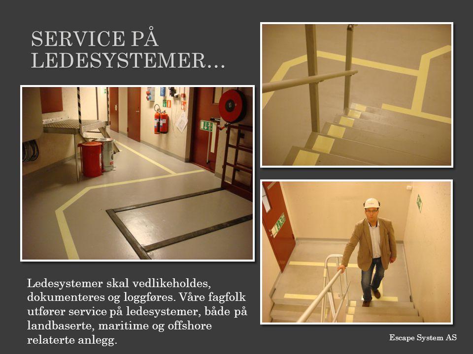 Service PÅ ledesystemer…
