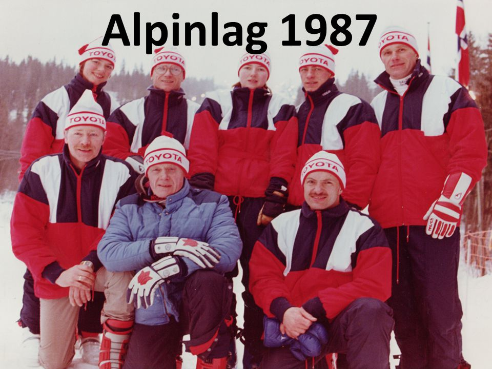 Alpinlag 1987