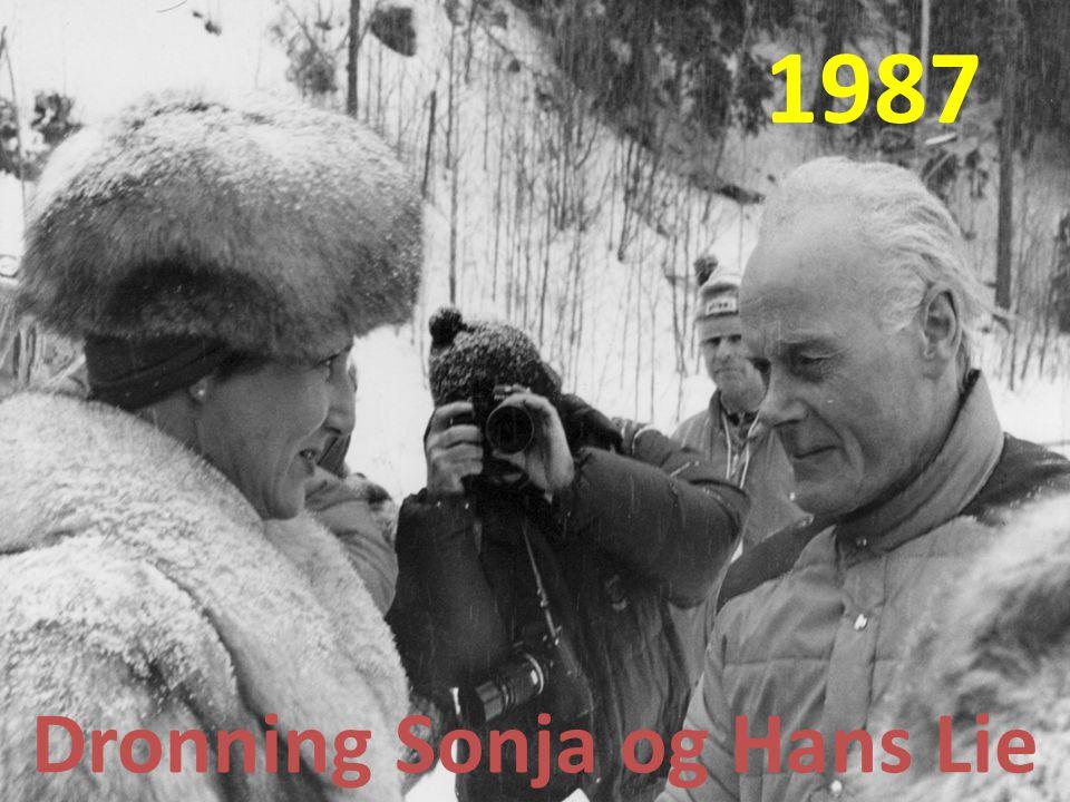 Dronning Sonja og Hans Lie