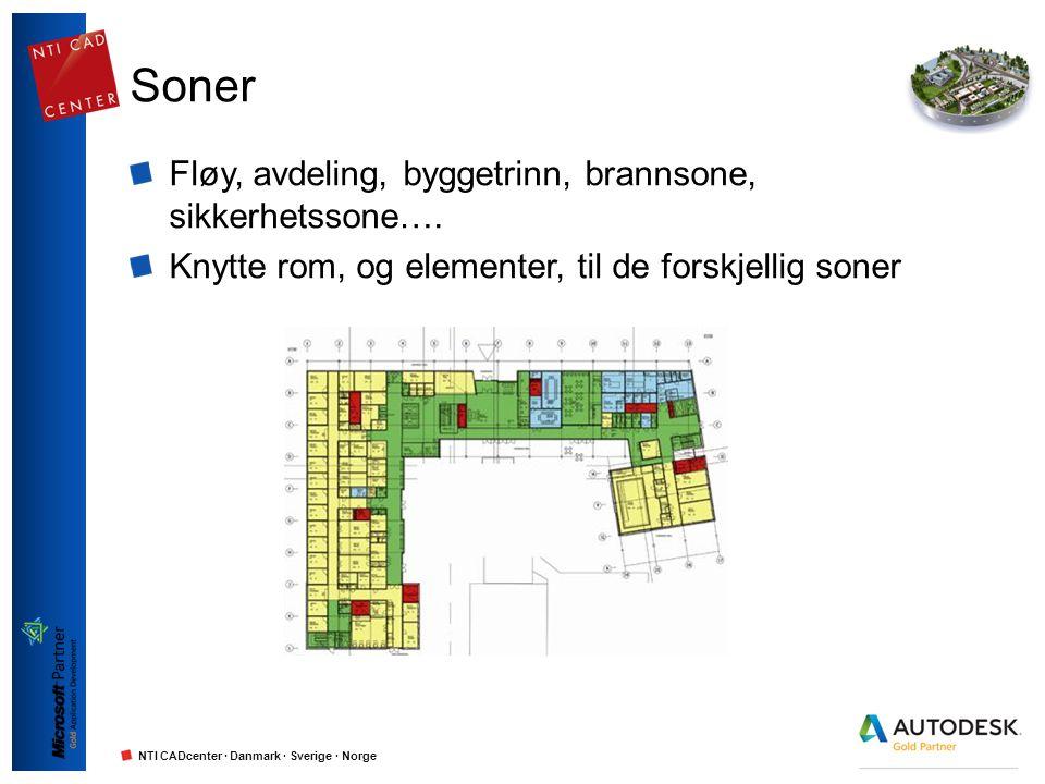 Soner Fløy, avdeling, byggetrinn, brannsone, sikkerhetssone….