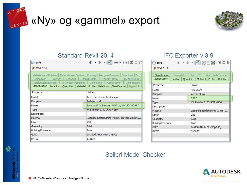 «Ny» og «gammel» export