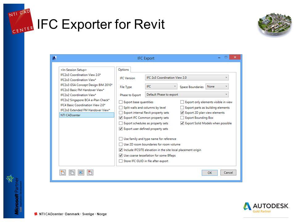 IFC Exporter for Revit
