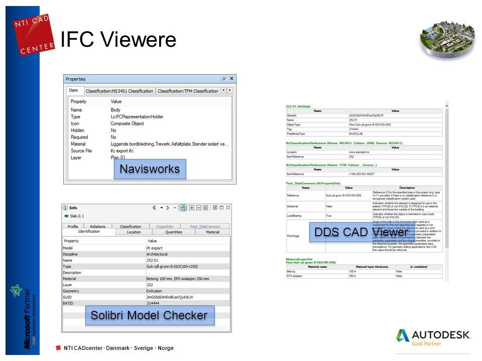 IFC Viewere Navisworks DDS CAD Viewer Solibri Model Checker