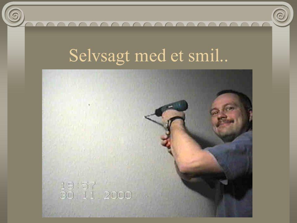 Selvsagt med et smil..