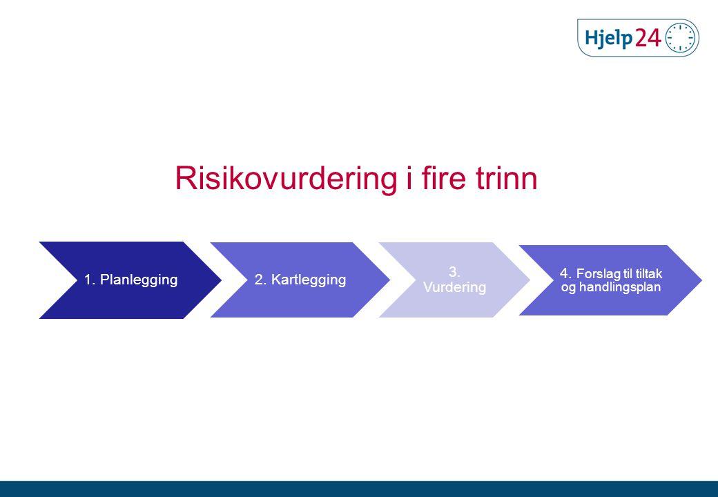 Risikovurdering i fire trinn