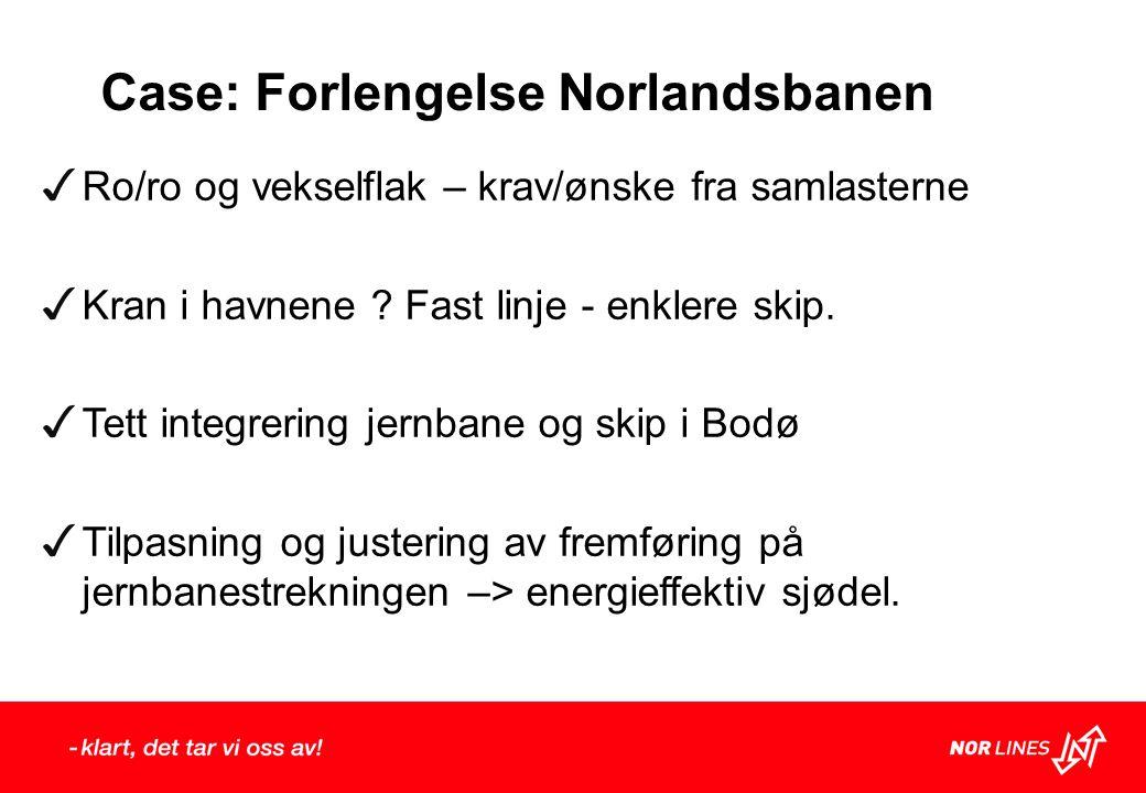 Case: Forlengelse Norlandsbanen