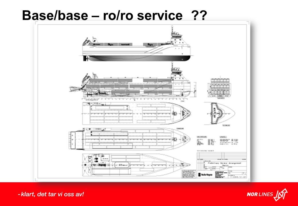 Base/base – ro/ro service
