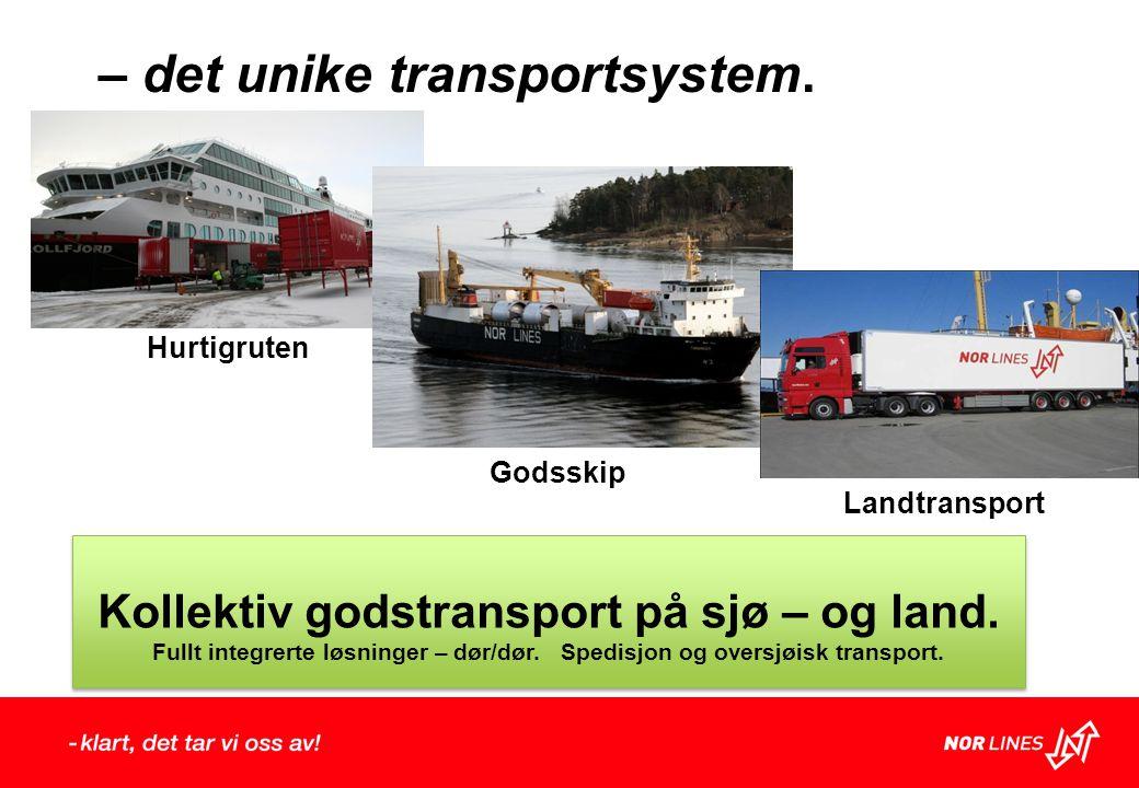 – det unike transportsystem.