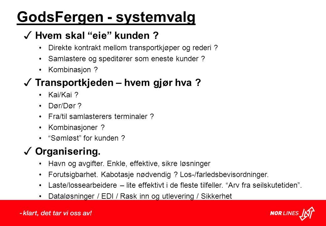 GodsFergen - systemvalg