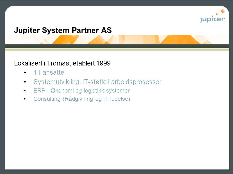 Jupiter System Partner AS