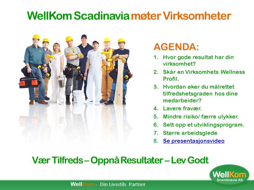WellKom Scadinavia møter Virksomheter