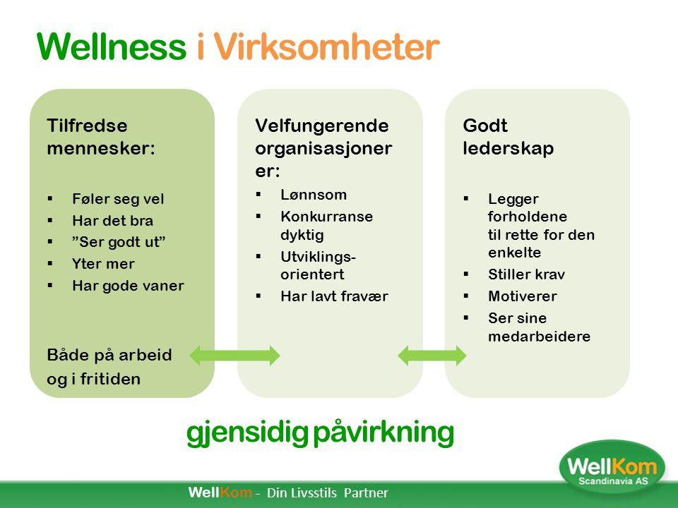 Wellness i Virksomheter