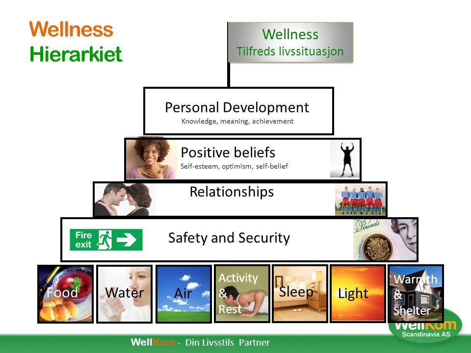 Wellness Hierarkiet Wellness Tilfreds livssituasjon