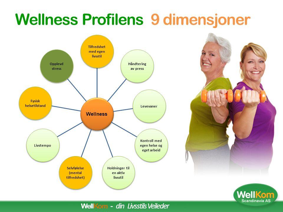 Wellness Profilens 9 dimensjoner