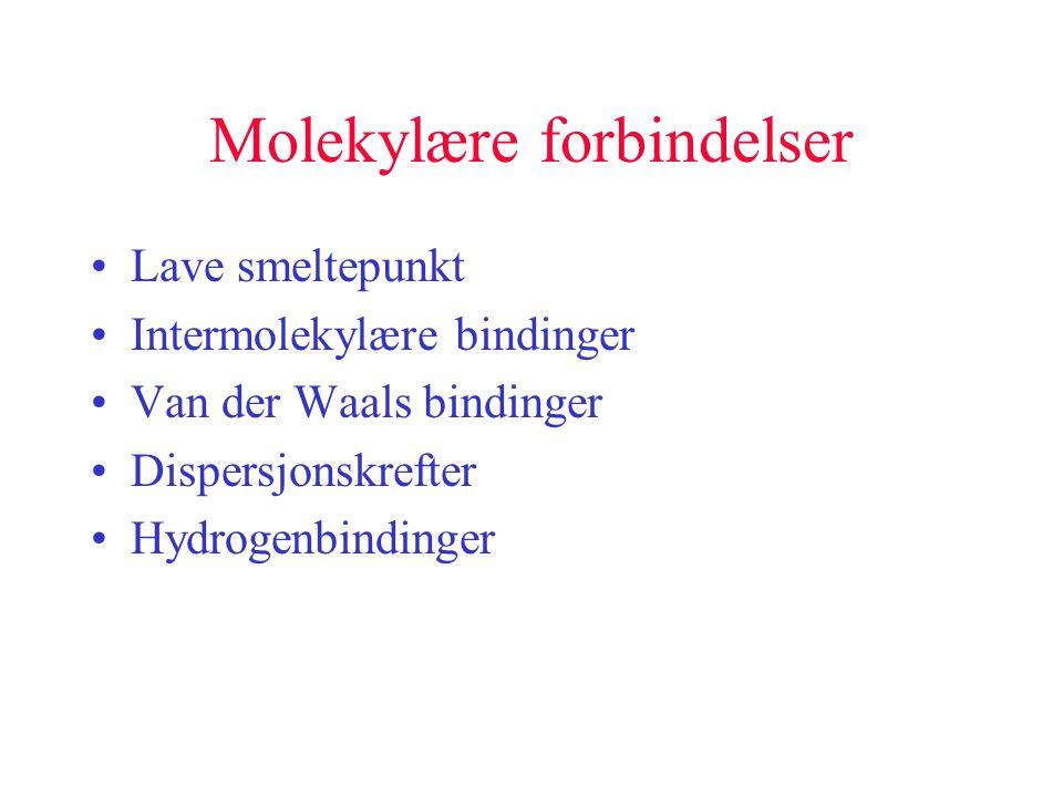 Molekylære forbindelser