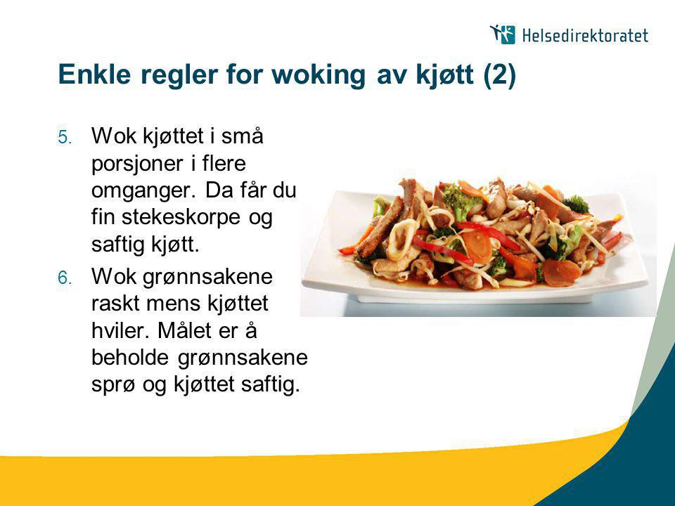 Enkle regler for woking av kjøtt (2)