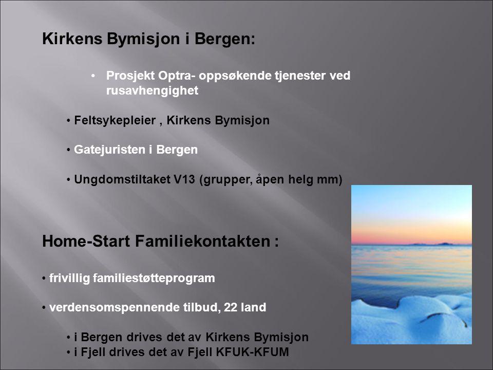 Kirkens Bymisjon i Bergen: